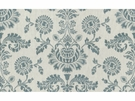 LEE JOFA CAMBERLY EMBROIDERED LINEN  FABRIC DUSK BLUE