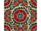 LEE JOFA CATALINA SUZANI EMBROIDERY FABRIC PAPRIKA