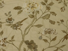 LEE JOFA DANTHE EMBROIDERY FABRIC BUFF