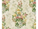 LEE JOFA ELTON HANDBLOCK COTTON FABRIC MULTI