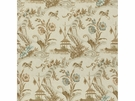 LEE JOFA FANTAISIE CHINOISE LINEN FABRIC BISQUE