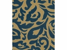 LEE JOFA FELICITY SILK EMBROIDERY FABRIC SAPPHIRE