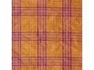 LEE JOFA GIBSON SILK PLAID CHECK FABRIC GILT RUST BURGUNDY