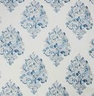 LEE JOFA HOLI EMB FABRIC BLUES