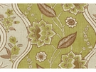 LEE JOFA GORE HOUSE FRENCH COUNTRY GLAZED LINEN FABRIC GREEN