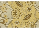 LEE JOFA GORE HOUSE FRENCH COUNTRY GLAZED LINEN FABRIC YELLOW