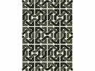LEE JOFA GROUNDWORKS CLIFFONEY CHENILLE FABRIC BLACK/GREY