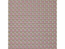 LEE JOFA GROUNDWORKS DAISY DAISY FABRIC RED/TAN