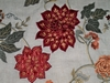 LEE JOFA GWF JACOBEAN FIONA EMBROIDERED SUEDE LINEN FABRIC