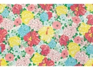 LEE JOFA HERITAGE FLORAL COTTON FABRIC MULTI