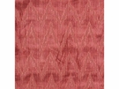 LEE JOFA HOLLAND FLAMEST CHEVRON CUT VELVET FABRIC CORAL