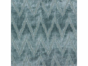 LEE JOFA HOLLAND FLAMEST CHEVRON CUT VELVET FABRIC LARKSPU