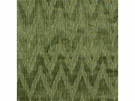 LEE JOFA HOLLAND FLAMEST CHEVRON CUT VELVET FABRIC MOSS