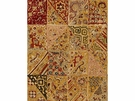 LEE JOFA INDIAN BLOCKS LINEN FABRIC AMBER