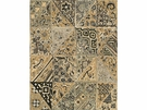 LEE JOFA INDIAN BLOCKS LINEN FABRIC PEWTER