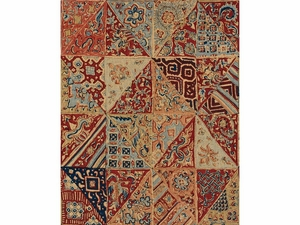 LEE JOFA INDIAN BLOCKS LINEN FABRIC ROSE