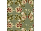 LEE JOFA JESSUP SAGE/BERRY FABRIC RED GREEN