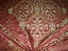 LEE JOFA KRAVET ANNE BOLEYN RENAISSANCE SILK DAMASK FABRIC 8 YARDS ROSE PINK GOLD CREAM