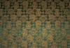 LEE JOFA KRAVET CHINOISERIE ORIENTAL VASES DAMASK FABRIC 30 YARD BOLT EMARLD GOLD