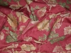 LEE JOFA KRAVET COUTURE ALOUETTE MORNING GLORY MOONFLOWER BROCADE FABRIC 9 YARDS ROSE BLUSH PEACH GREEN