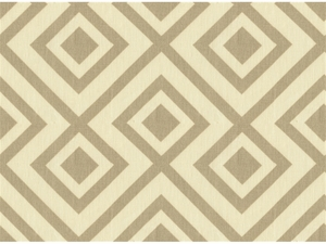 LEE JOFA LA FIORENTINA GEOMETRIC LINEN FABRIC GREY