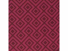 LEE JOFA LA FIORENTINA GEOMETRIC LINEN FABRIC WINE