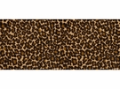 LEE JOFA LE LEOPARD VELVET FABRIC SABLE