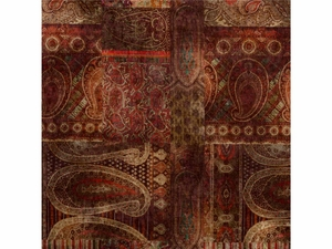 LEE JOFA LOMOND VELVET FABRIC RED PLUM