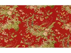 LEE JOFA LYNDHURST PHEASANT FABRIC CURRANT