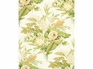 LEE JOFA MAIA TROPICAL FABRIC GOLD IVORY
