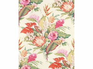LEE JOFA MAIA TROPICAL FABRIC MULTI WHITE