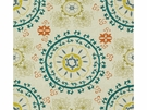 LEE JOFA MEVLEVI EMBROIDERED SUZANI FABRIC MALLARD
