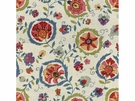 LEE JOFA MONTMARTRE PRINTED FABRIC PINK GREEN