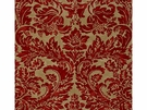 LEE JOFA MONTROSE DAMASK LINEN FABRIC RUBY