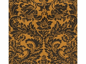 LEE JOFA MONTROSE VELVET DAMASK COTTON FABRIC ONYX/TOPAZ