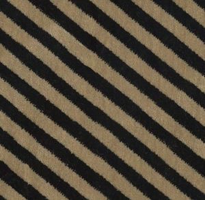 LEE JOFA OBLIQUE VELVET FABRIC BEIGE NOIR