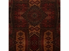 LEE JOFA ORIENTAL CARPET VELVET FABRIC RED