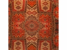 LEE JOFA ORIENTAL CARPET VELVET FABRIC SPICE