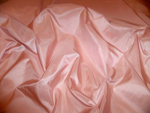 LEE JOFA PALAIS SILK TAFFETA FABRIC SHELL PINK 30 YARD BOLT