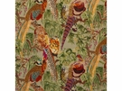 LEE JOFA PHEASANT BIRDS VELVET FABRIC FIG