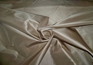 LEE JOFA SANDALWOOD BEIGE SILK TAFFETA FABRIC
