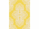 LEE JOFA SHELL WE DAMASK LINEN FABRIC DANDELION