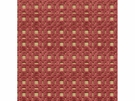 LEE JOFA SHORERIDGE GEOMETRIC VELVET FABRIC BERRY