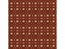 LEE JOFA SHORERIDGE GEOMETRIC VELVET FABRIC CHERRY
