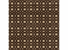 LEE JOFA SHORERIDGE GEOMETRIC VELVET FABRIC CHOCOLATE
