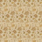 LEE JOFA TIDEWATER BLOCK FABRIC GOLD/BROWN