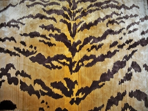 LEE JOFA TIGER /  TIGRE SILK VELVET FABRIC