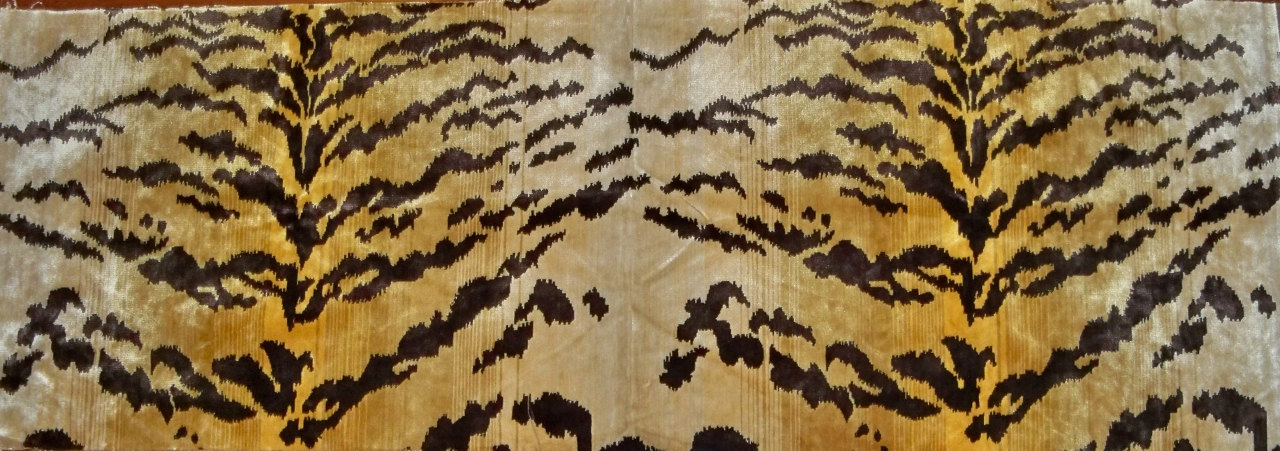 Lee Jofa Tiger Tigre Silk Velvet Fabric