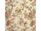 LEE JOFA TRESILLIAN LINEN FLORAL BIRDS FABRIC CREAM