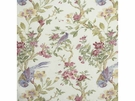 LEE JOFA TRESILLIAN LINEN FLORAL BIRDS  FABRIC POWDER